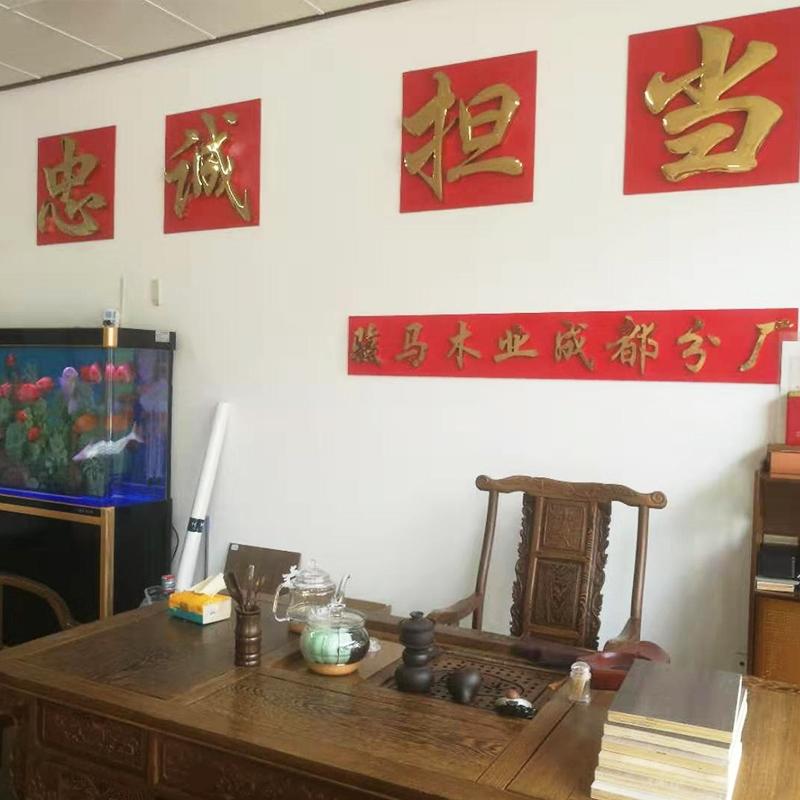 Chengdu Horse Base on display